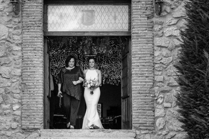 boda en construcción del s. XVIII