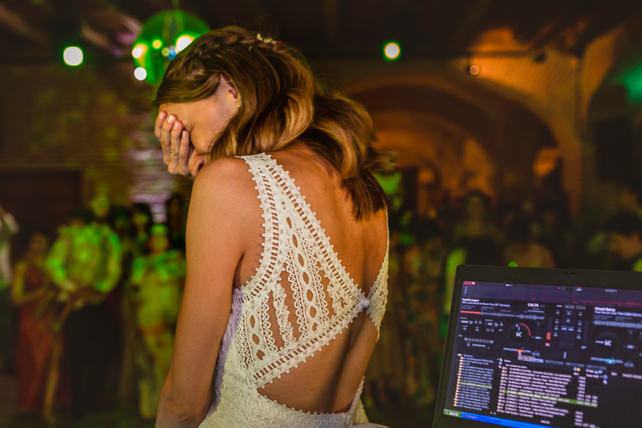 Fotografía de boda sin posados