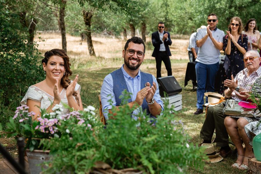 Fotografía de boda en el campo