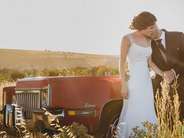 Reportaje de boda en el campo