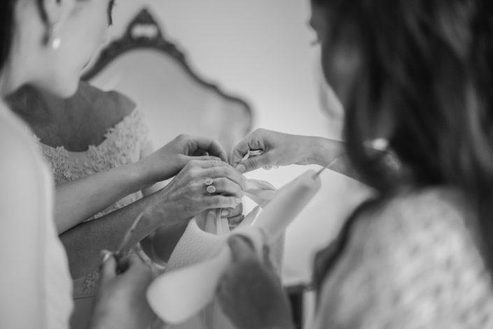 fotografía preparativos novia