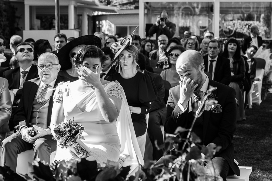Fotografía de boda al natural