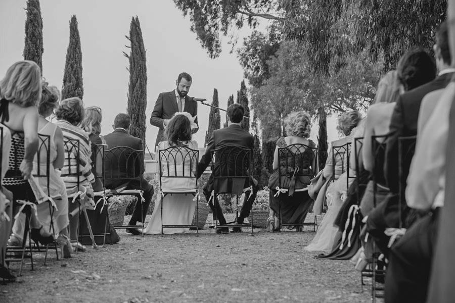 Una boda con mucho estilo en Cáceres