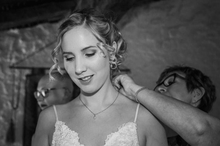 Reportaje los preparativos de la novia