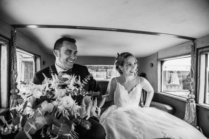 Fotografía de boda recién casados