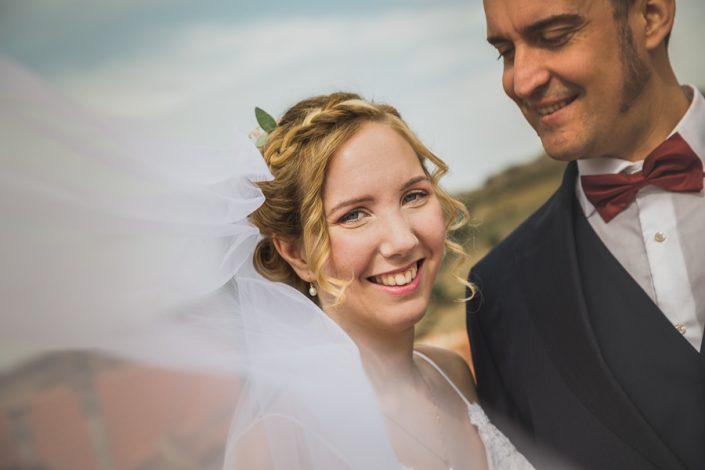 Reportaje de pareja recién casados