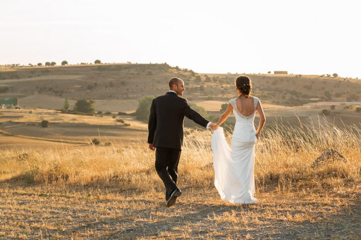 Reportaje de boda rural