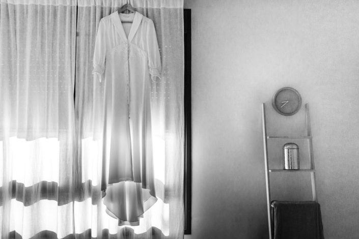 Reportaje de boda el vestido de novia