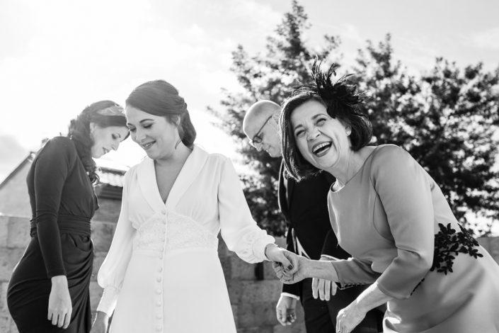 Reportajes de boda con humor