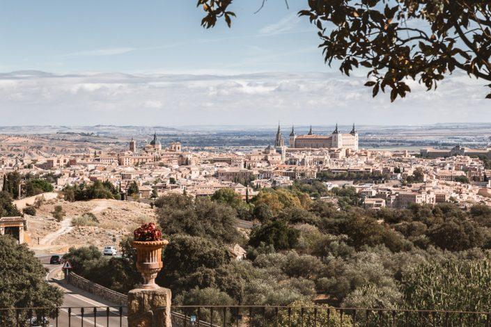 Vistas de Toledo desde el Cigarral de las Mercedes