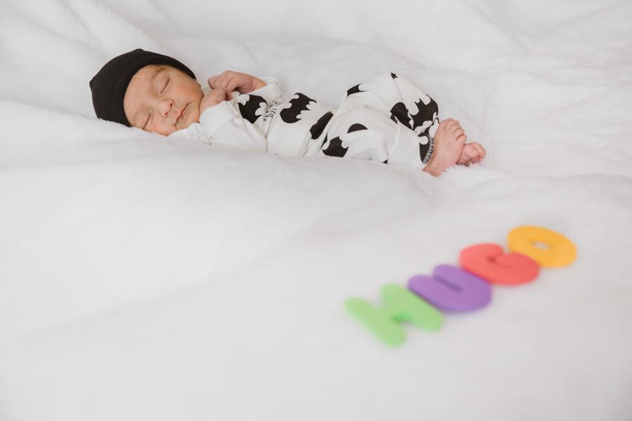 Reportaje recién nacido en casa